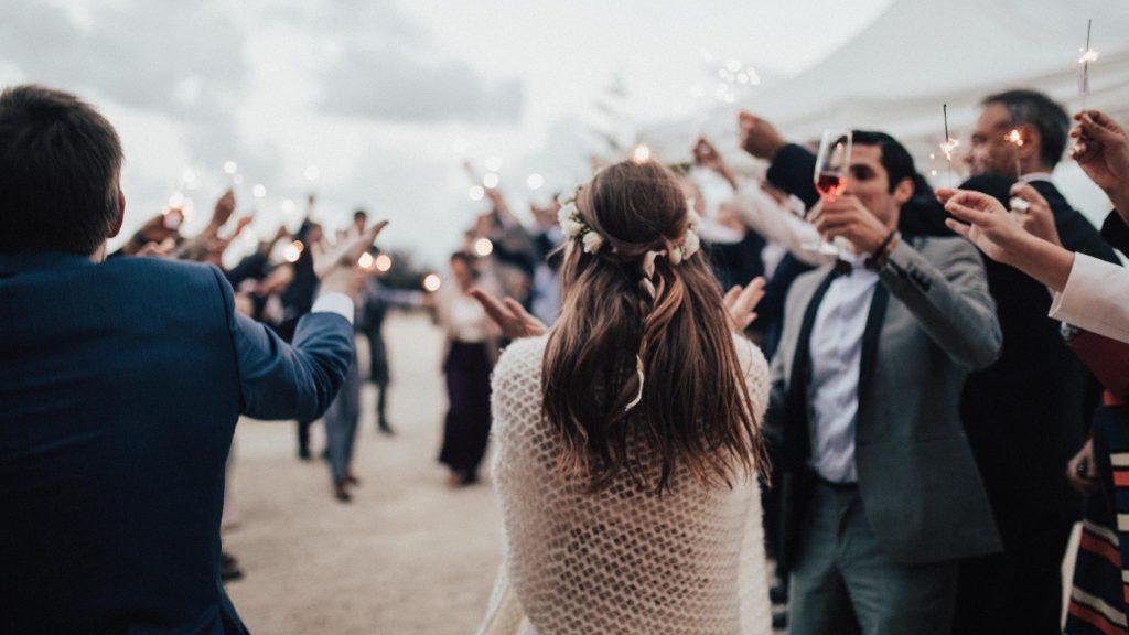Tweede outfit bruiloft