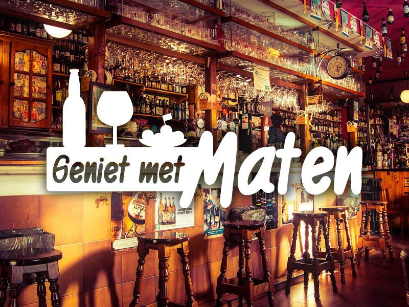 GENIET MET MATEN!