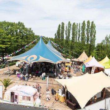 Zakelijk festival buiten
